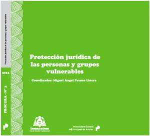 Portada Protección jurídica de las personas y grupos vulnerables