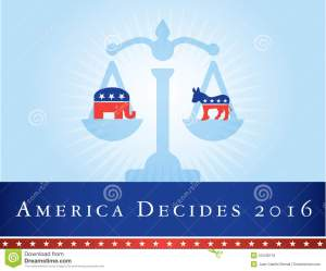 america-elections-illustration-representing-united-states-presidential-to-be-held-donkey-represents-democrat-party-53448116