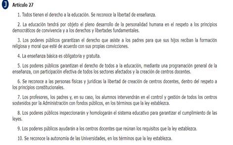 Derecho educación